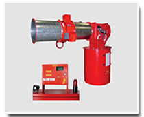 fire detection anf diverter system