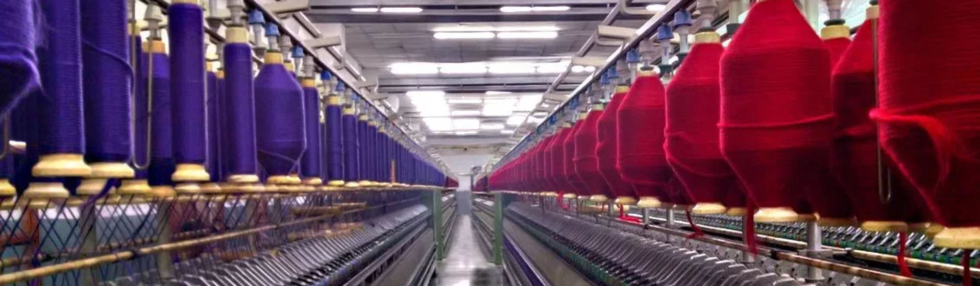 Textile spinning machinery