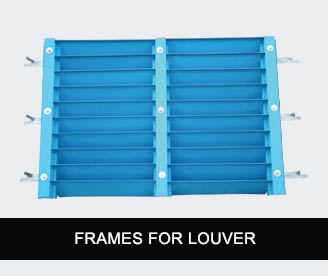 SM Extrusions frames for louver