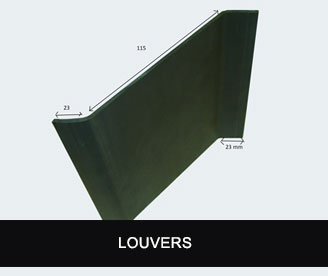 SM Extrusions Louvers