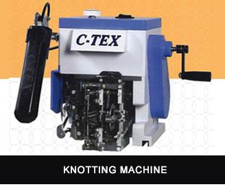 C-tex knotting machine