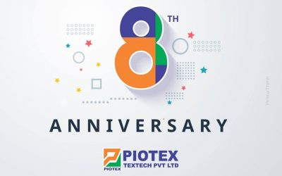 Celebrating 8th Anniversary of Piotex Textech Private Limited.